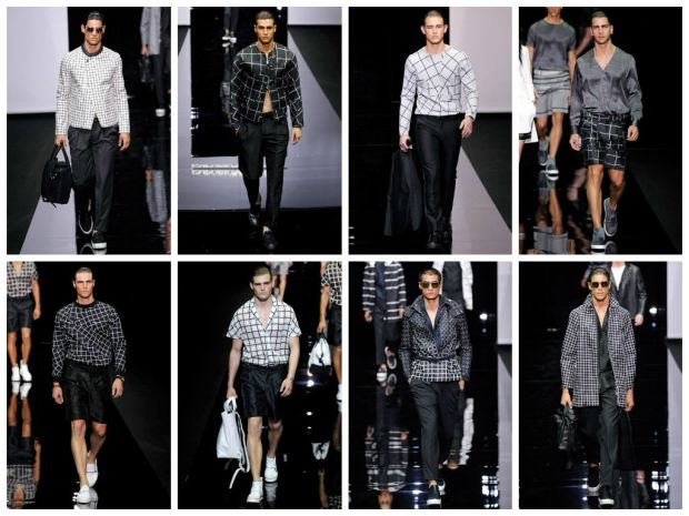 Emporio Armani P/E 2015. Photo credit: Cameramoda.it